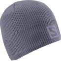 čepice Salomon Logo Beanie 14/15 artist grey-x