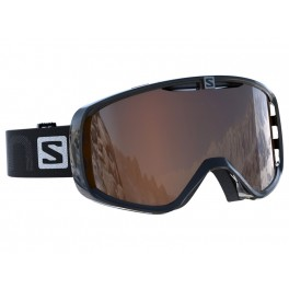 Lyžařské brýle Salomon Aksium Black/Sol Silver Tonic 17/18