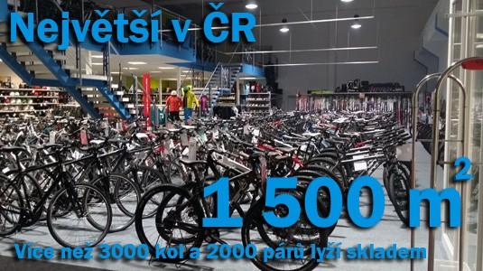 Největší obchod s jízdními koly v ČR