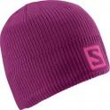 čepice Salomon Logo Beanie 14/15 mystic purple