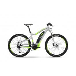 Haibike SDURO HardSeven 4.0 400 Wh 9 r. Acera stříbrná/neon zelená 2017