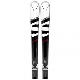 Salomon X-Max X6 white/black/red + vázání Mercury 11
