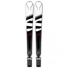 Salomon X-Max X6 white/black/red + vázání Lithium 10 17/18
