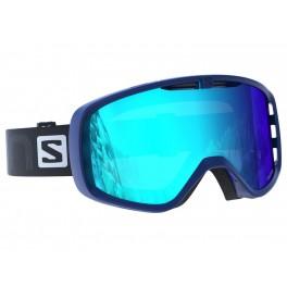 Lyžařské brýle Salomon Aksium Blue/Univ. Mid. Blue 17/18