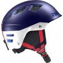 Lyžařská helma Salomon MTN Charge WEggplant/White