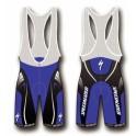 Kalhoty Specialized Comp Racing modré do pasu (foto ilustr. s laclem)