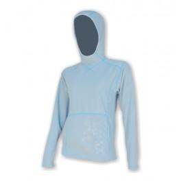 Sensor Smartfleece Evo mikina s kapucí dámská modrá