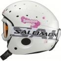 Salomon lyžařská přilba Zoom Combo jr. + brýle