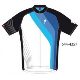 Cyklistický dres Specialized Comp Cross Over černá/modrá