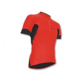 Cyklistický dres Sensor Profi Coolmax pánský - červený