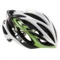 Met silniční helma Inferno Ultimalite bílá/zelená 58-61 cm