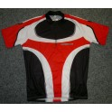 Cyklistický dres Freerace Jersey red/black